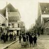 Perlegade ved Jernbanegade, 1910erne.