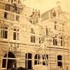 Det nuværende bygning under opførelse, 1865.