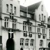 Perlegade i 1930erne, da den fungerede som Politigård.