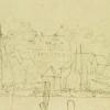 <!--:da-->Borgmester Finsensgård i Rosengade, tegning 1850erne.<!--:--> <!--:de-->Bürgermeister Finsen Hof in der Rosengade, Zeichnung aus den 1850er Jahren.<!--:--> <!--:en-->Mayor Finsen's house in Rosengade, drawing, 1850s.<!--:-->